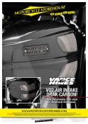 Vance and Hines VO2 Air intake Drak Carbon
