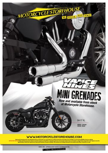 Vance and Hines Mini Grenades