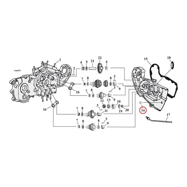 511341 - bushing  brake pedal shaft