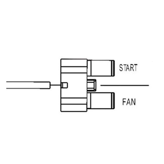 516291 - starter  fan relay  ultra micro 280  spst