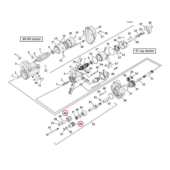 918248 - starter pinion gear