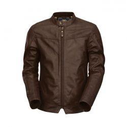 562601 Rsd Leather Jacket Walker Brown Www Motorcyclestorehouse Com