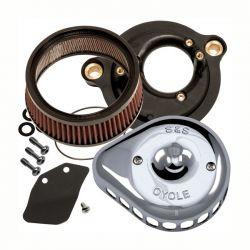563068 - S&S Mini Teardrop Stealth air cleaner kit - www