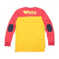 Roeg Ricky sweatshirt yellow/red