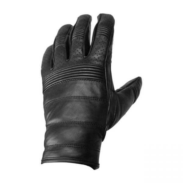 ROEG Hank leather gloves black