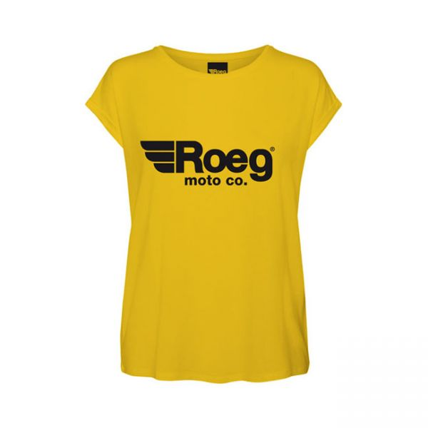 ROEG OG lady tee yellow