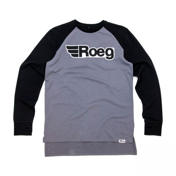 Roeg Ricky sweatshirt black/grey