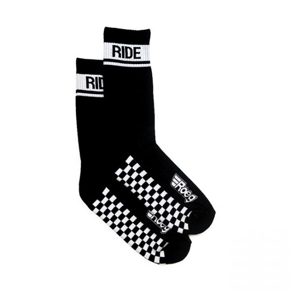 ROEG Early finish socks black