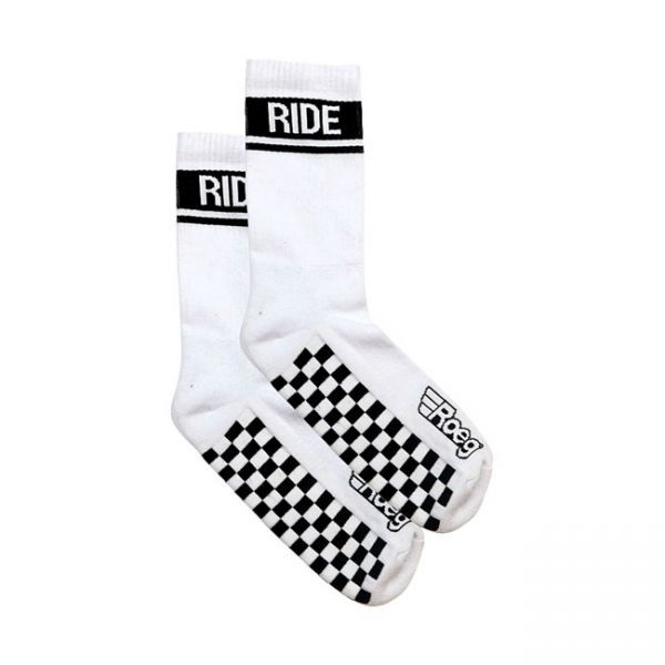ROEG Early finish socks white