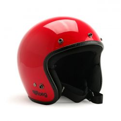 Roeg JETT helmet flaming red gloss