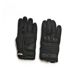 Roeg FNGR All-Leather Gloves Black