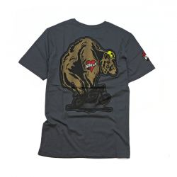 Roeg Throttle Bear Tee grey