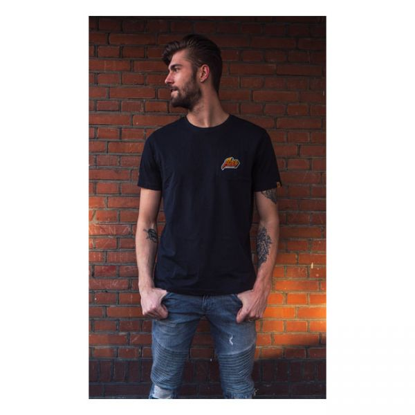Roeg 7Tees Tee black