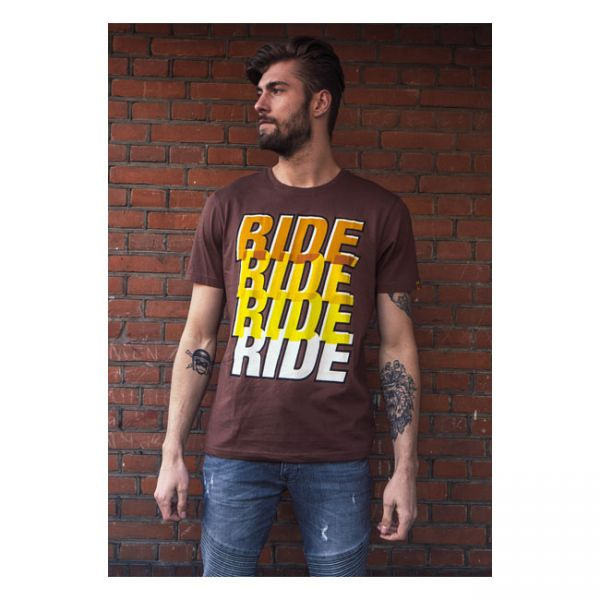 Roeg Ride Four Tee brown