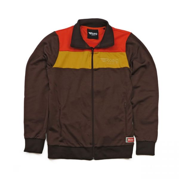 Roeg Greg Track Jacket brown
