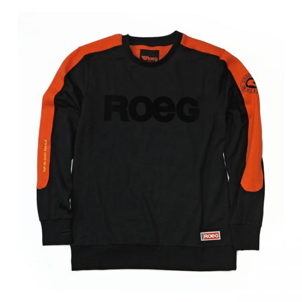 Roeg Randy Sweat Jersey black/orange