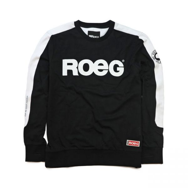 Roeg Randy Sweat Jersey black/white