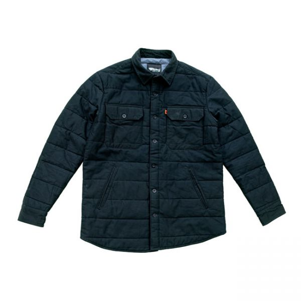 Roeg Kodiac shirt jacket black
