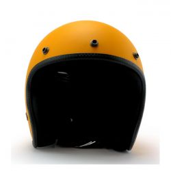 Jet Roeg Helmet Sunset Yellow Gloss Yellow Gloss ECE Approved Biker Custom 2XL Sunset yellow gloss