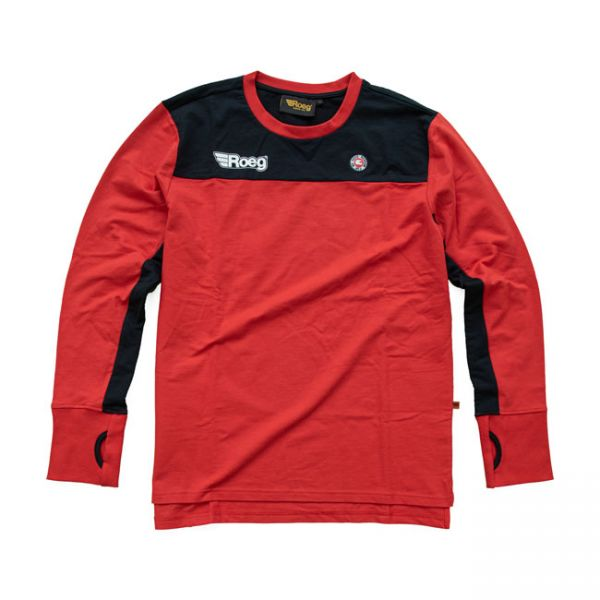 Roeg Ricky jersey midnight red