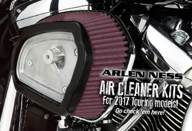 Arlen Ness Aircleaners